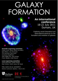 Link to Galaxy Formation conference website