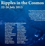 Link to Ripples in the Cosmos conference website